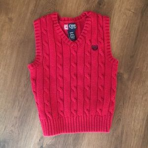 Adorable Red Sweater- BOYS